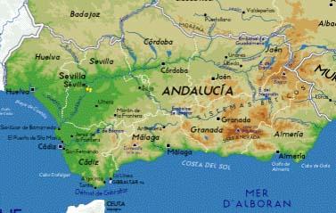 Andalousie Carte Didentite.Abellia Voyage En Espagne Www Ecolebizu Org